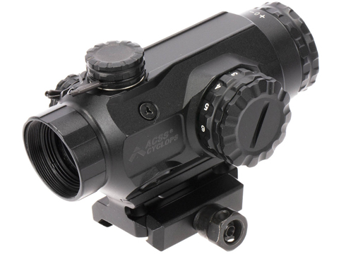 Primary Arms 1X Compact Prism Scope w/ Illuminated ACSS Cyclops Reticle (Color: Black)