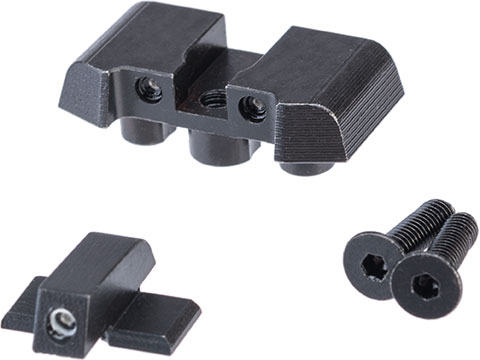 Pro-Arms Steel Tritium Sight Set for SIG Sauer ProForce P320 M17 MHS Airsoft GBB Pistols