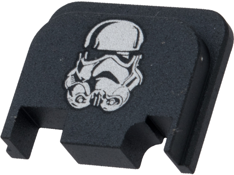 Pro-Arms Slide Rear Cover for Elite Force GLOCK Airsoft Pistols (Type: White Trooper)