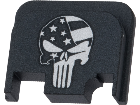 Pro-Arms Slide Rear Cover for Elite Force GLOCK Airsoft Pistols (Type: Skull)