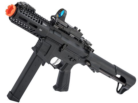 Evike.com Vault Collection Laylax / Prometheus JDM Custom G&G CM16 ARP9 CQB AEG Airsoft SMG (Color: Black)