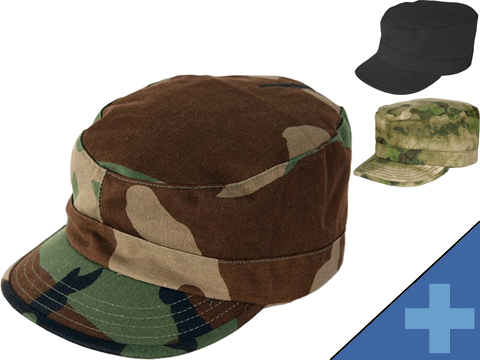 PROPPER BDU Patrol Cap/Ranger Hat (Type: Woodland / Medium)