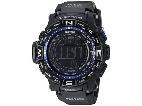 Casio Men's PRW-3500Y-1CR Pro-TrekTriple-Sensor Stainless Steel Watch
