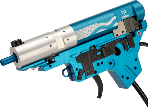 PolarStar Airsoft PR-15 V2 Gen3 Fusion Engine Electro-Pneumatic Gearbox Kit (Model: EMG Edition Blue Nozzle)