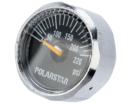 PolarStar Replacement Pressure Gauge for MicroReg Air Regulators 0-220psi, 25mm