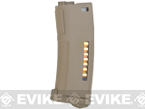 PTS Enhanced Polymer Magazine (EPM) for M4 M16 Series Airsoft AEG Rifles (Color: 150rd Mid-Cap / Dark Earth)