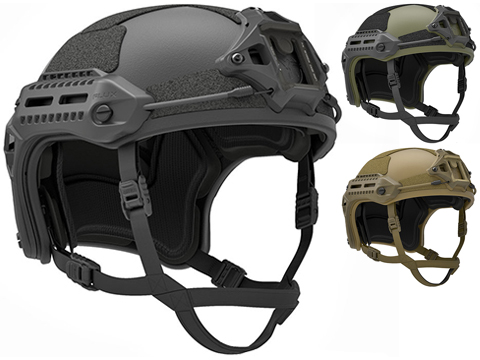 PTS MTEK FLUX Replica Tactical Helmet (Color: Black)