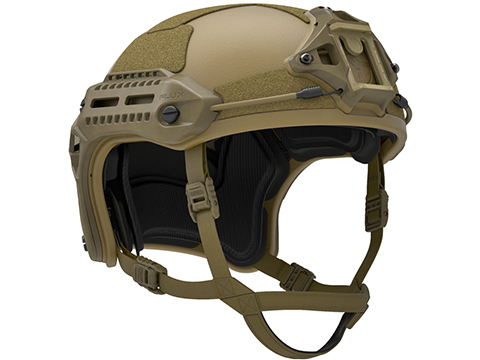 PTS MTEK FLUX Replica Tactical Helmet (Color: Dark Earth)