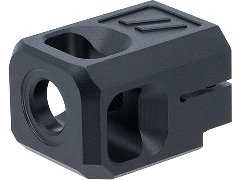 PTS ZEV Technologies Licensed PRO Compensator V2 for ISSC M22, SAI BLU, Lonewolf, & Compatible Airsoft Gas Blowback Pistol