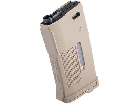 PTS 170rd Enhanced Polymer Short Magazine Mid-Cap for M4 Series Airsoft AEG Rifles (Color: FDE)