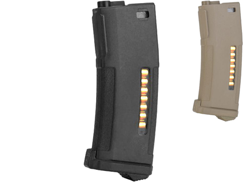 PTS Enhanced Polymer Magazine for M4 Series Airsoft AEG Rifles (Color: 150rd Mid-Cap / Black)