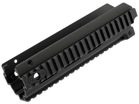 PTS Railed Hanguard for PTS Masada Gas Blowback Rifle (Color: Black)