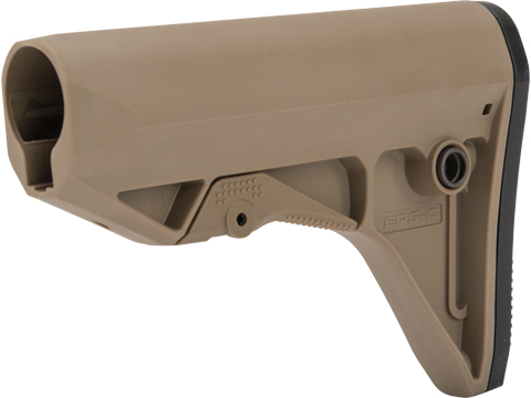 PTS Enhanced Polymer Stock Compact (EPS-C) (Color: Dark Earth)