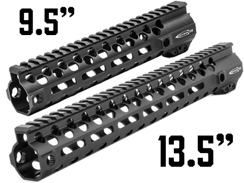 PTS Licensed Centurion Arms CMR Handguard for M4 / M16 Series AEG / GBB Rifles (Model: Black / M-LOK / 9.5�)