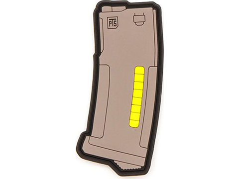 PTS PVC IFF Hook and Loop EPM Patch (Color: Tan)