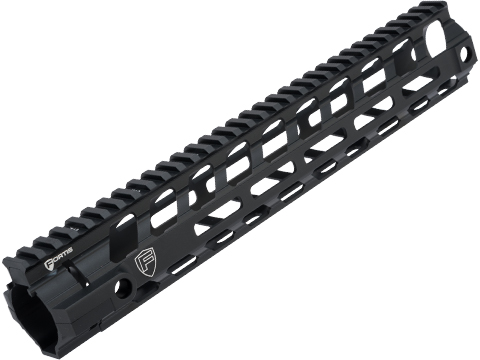 PTS Fortis Licensed REV II M-LOK Handguard for M4 Series Airsoft Rifles (Model: Black / 12)
