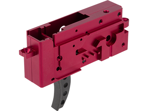 PTS Enhanced PTW Gearbox for Systema PTW Airsoft Training Rifle (Color: Red)