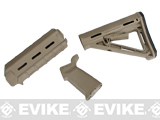 Magpul PTS MOE Conversion Kit for WA/G&P M4 Series Airsoft GBB Rifles - Dark Earth