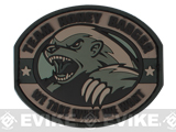 "Mil-Spec Monkey ""Honey Badger"" PVC Velcro Patch - ACU"