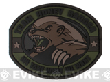 "Mil-Spec Monkey ""Honey Badger"" PVC Velcro Patch - Forest"