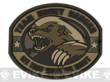 "Mil-Spec Monkey ""Honey Badger"" PVC Velcro Patch - Multicam"