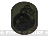 "Mil-Spec Monkey ""Berserker"" PVC Velcro Patch - Forest"