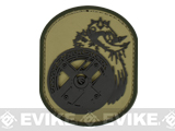 "Mil-Spec Monkey ""Berserker"" PVC Velcro Patch - Multicam"