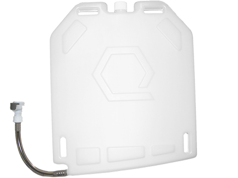 Qore Performance IcePlate Cooling/Hydration Plate (Color: Black / QD / No Bite Valve)