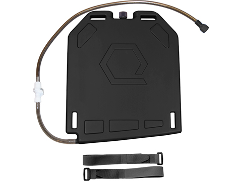 Qore Performance IcePlate Cooling/Hydration Plate (Color: Black / QD Hose Connection)