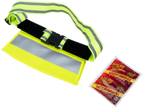 Qore Performance IceShield Industrial Hand Warmer (Color: Safety Yellow)