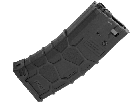 VFC QRS Polymer Magazine for M4/M16 Series Airsoft AEGs (Type: 300rd Hi-Cap / Black)