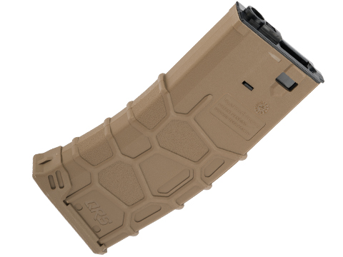 VFC QRS Polymer Magazine for M4/M16 Series Airsoft AEGs (Type: 300rd Hi-Cap / Dark Earth)