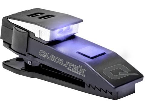 QuiqLiteX USB Rechargeable Uniform Mount LED Light (Color: White / UV)