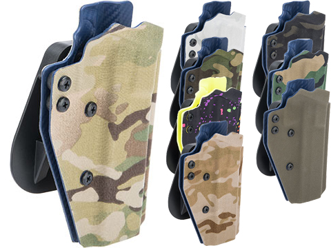 QVO Tactical Secondary OWB Kydex Holster for EMG STI / TTI JW3 2011 Combat Master Series