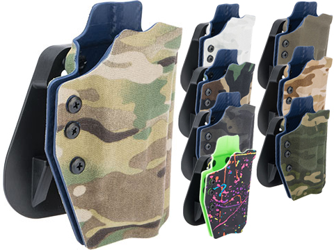 QVO Tactical Secondary OWB Kydex Holster for EMG Hudson H9 Series