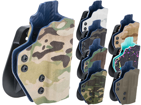 QVO Tactical Secondary OWB Kydex Holster for EMG Archon Type B Series