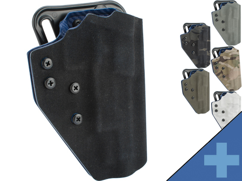 QVO Tactical Secondary OWB Kydex Holster for EMG 2011 / Hi-CAPA Series