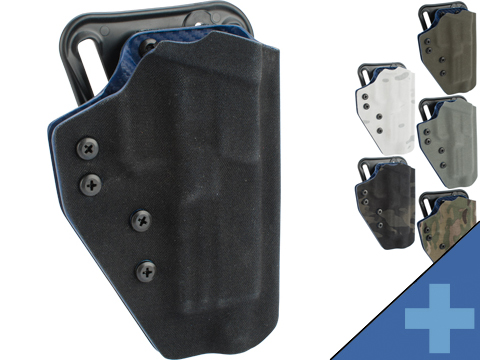 QVO Tactical Secondary OWB Kydex Holster for EMG SAI BLU Series