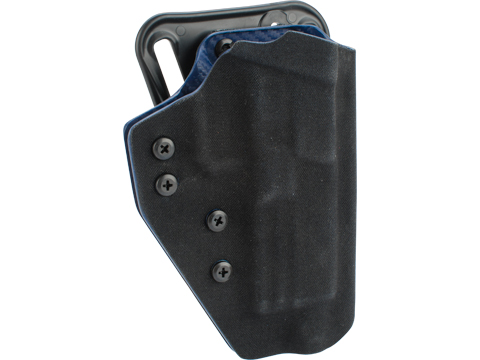 QVO Tactical Secondary OWB Kydex Holster for EMG SAI BLU Series (Color: Black)