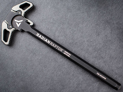 Radian Weapons Raptor LT Charging Handle for AR15 Rifles (Color: Tungsten Grey)
