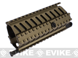 ICS Full Metal SG552 MRS Rail Interface System - Dark Earth