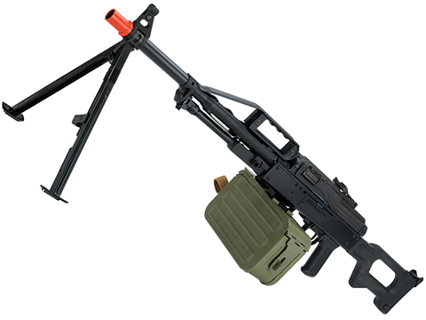 Raptor Airsoft  PKP Pecheneg Full Metal Airsoft AEG Light Machine Gun