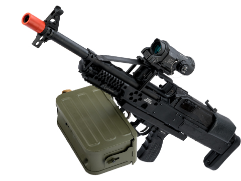 Raptor Airsoft Limited Edition Bullpup PKP Pecheneg Full Metal Airsoft AEG Light Machine Gun