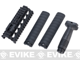 G&P Lower Rail System for M249 Series Airsoft AEG Machine Guns