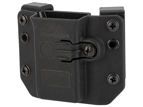 Raven Concealment Short Profile Omnidirectional Pistol Magazine Carrier w/ 1.5 Belt Loops (Type: Single-Double Stack 9mm / .40 S&W)