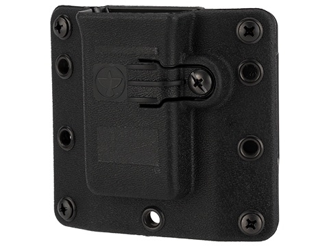 Raven Concealment Standard Profile Omnidirectional Pistol Magazine Carrier w/ 1.5 Belt Loops (Type: Single-Double Stack 9mm / .40 S&W)