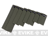 Energy Diamond Plate Rail Covers - (Set of 8 / OD Green)