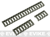 Element 18-Slot LoPro Rail Cover Set - Foliage Green