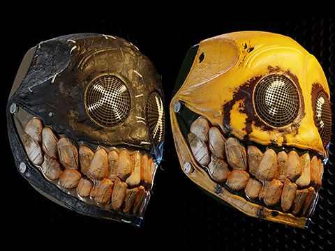 Evike.com R-Custom Fiberglass Smiley Full Face Mask