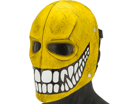 Evike.com R-Custom Fiberglass Wire Mesh 40D Smiley Mask Inspired by Army of Two